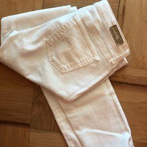 AG Stevie White Jeans